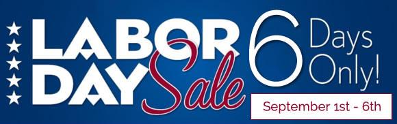 Final Summer Sale - Labor Day Sale!